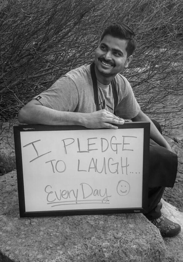 i pledge to laugh