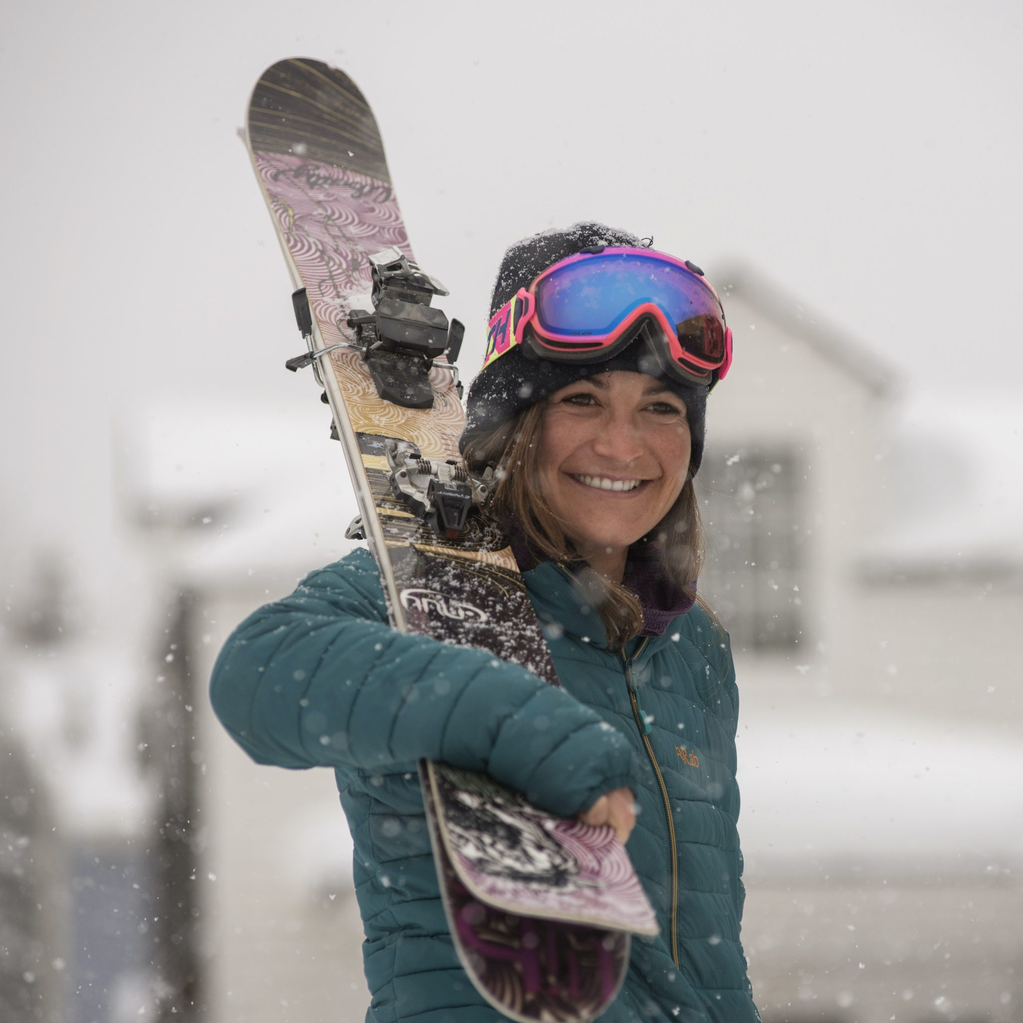 Emily Steingart in Snow Faces of Hope