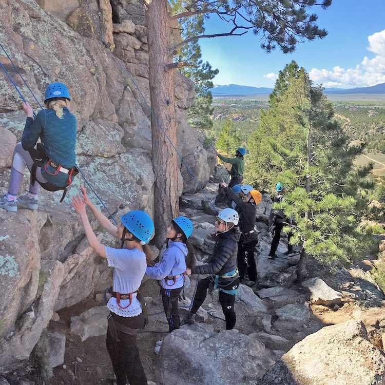 The HYPE rock climbing event for teens